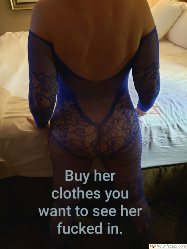 hotwife challenge hotwife caption mature nympho in blue lingerie