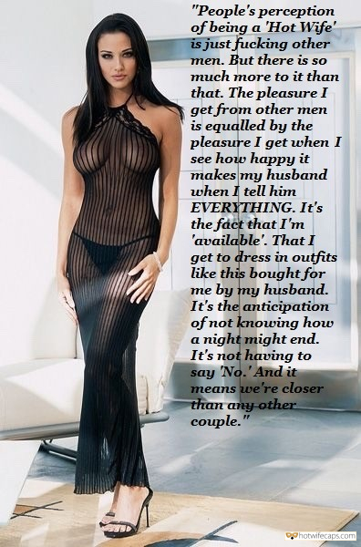 "Sexy Memes Flashing Dirty Talk hotwife caption: ""People's perception of being a 'Hot Wife' is just fucking other men. But there is so much more to it than that. The pleasure I get from other men is equaled by the pleasure I get when I see how..."